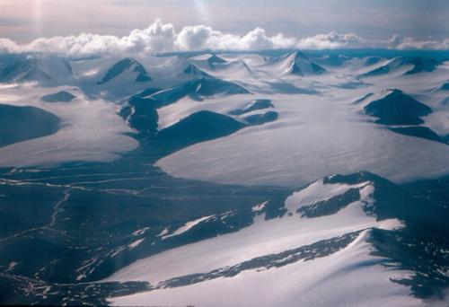 Photo 2013-084 : Glaciers near Mount Grant