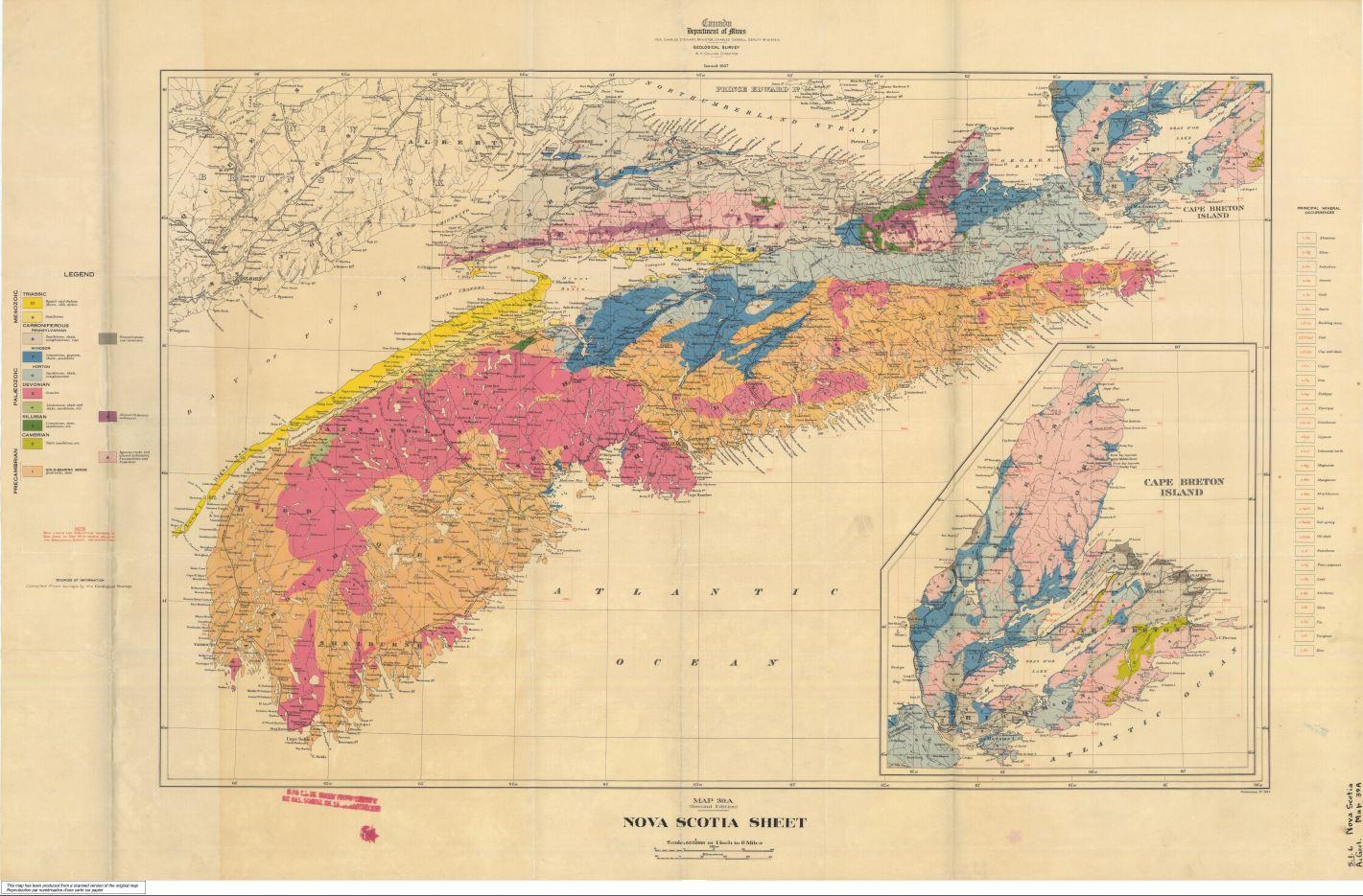 Carte Assurance Maladie Nouvelle Ecosse.Geoscan Resultats De La Recherche