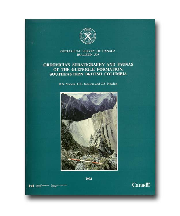 Ordovician stratigraphy and faunas of the Glenogle Formation, southeastern British Columbia