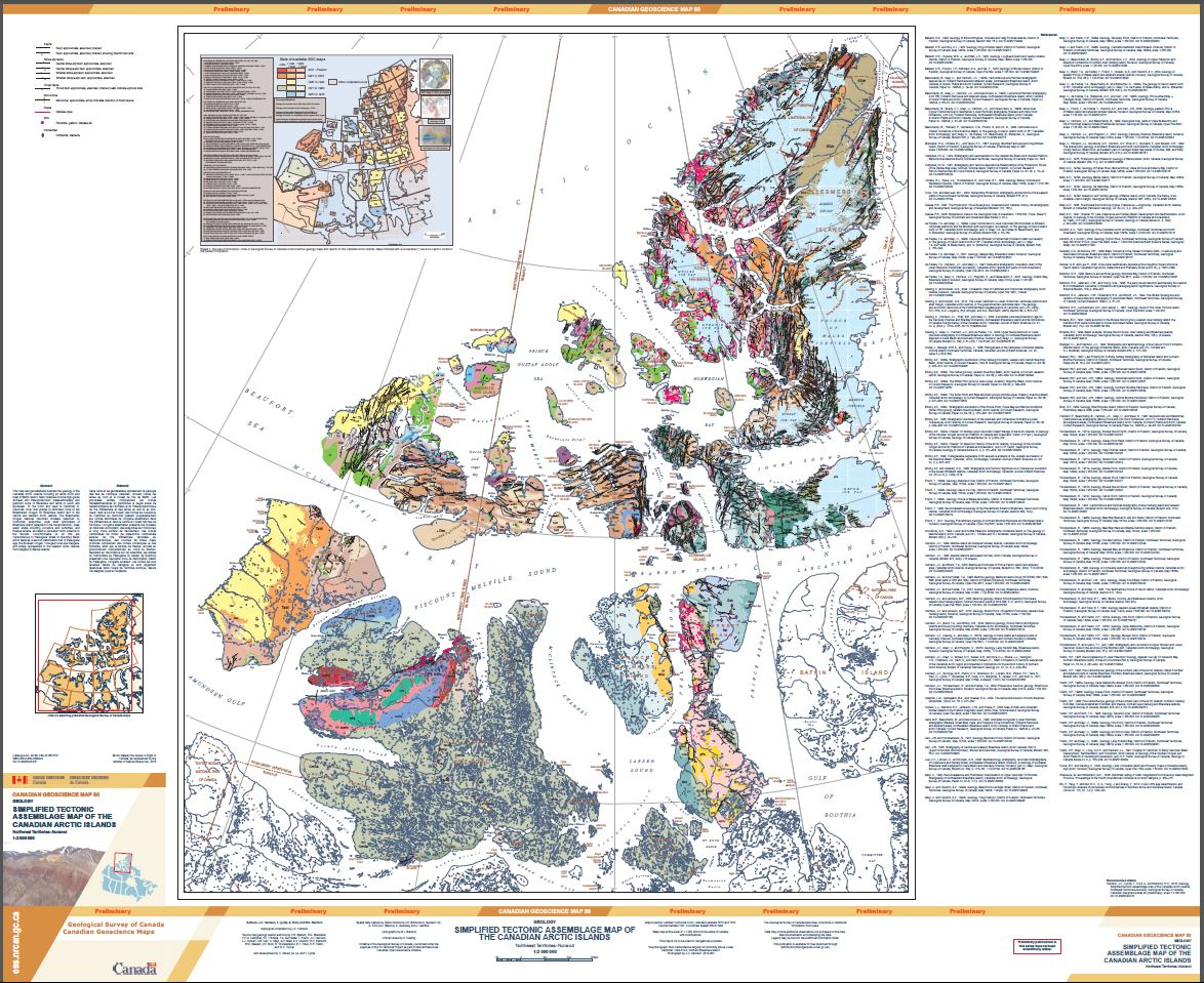 Islands Of Canada Map.Geoscan Search Results Fastlink