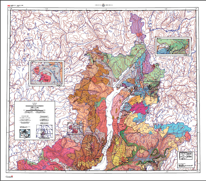 Geology, Okanagan Watershed, British Columbia